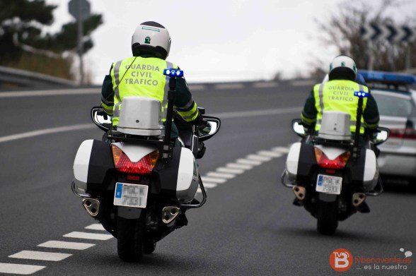 foto motos tráfico - guardia civil - tvbenavente