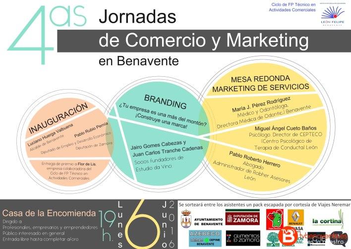 Jornadas Comercio y Marketing en Benavente 6junio2016