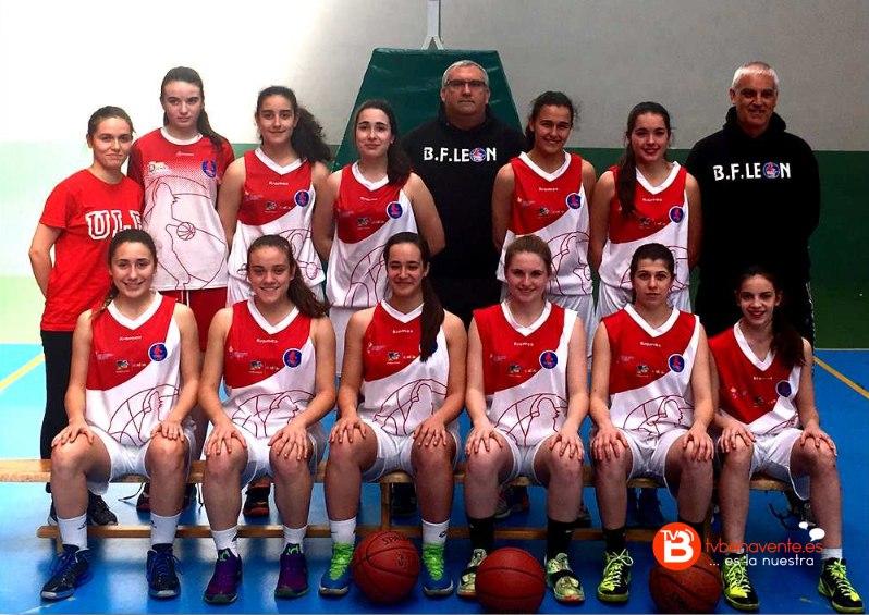 baloncesto femenino leon cadete
