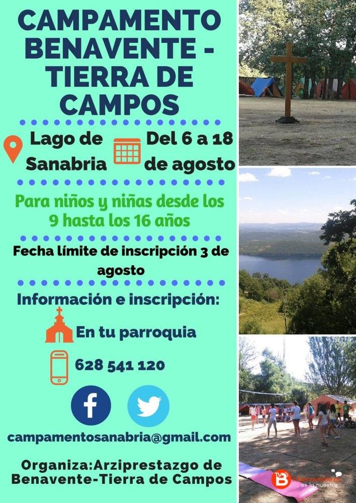 CAMPAMENTO BENAVENTE - TIERRA DE CAMPOS 2016 - LAGO DE SANABRIA
