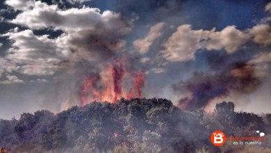Photo of ACTUALIZADO: Medios aéreos y terrestres trabajan en la extinción de un incendio en el Valle de Vidriales