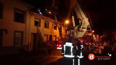 Photo of Un intoxicado por humo en el incendio de una vivienda en Villanueva del Campo