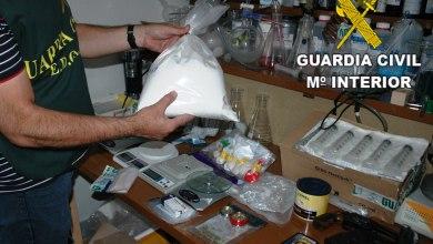 Photo of Desmantelado un laboratorio de drogas sintéticas en Moraleja del Vino