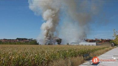 Photo of VIDEO: Incendio en la Vía del Canal de Benavente