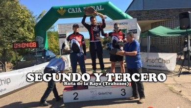Photo of Con nota los benaventanos del btt en la Ruta de la Raya