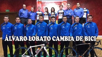 Photo of Álvaro Lobato se pasa al ciclismo profesional en ruta