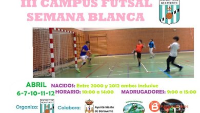 Photo of El Racing Benavente organiza el III Campus Futsal Semana Blanca