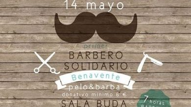 "Photo of Primer encuentro ""Barbero Solidario"" en Benavente a favor de AFIBE"