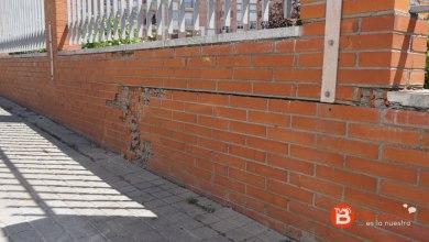 Photo of El muro de la estación de autobuses en una situación muy delicada