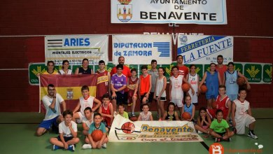 Photo of Una treintena de niños disfrutó del X Campus de Baloncesto en Benavente