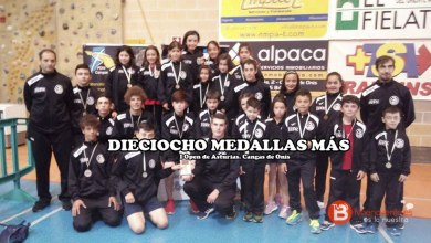 Photo of Dieciocho medallas para el Quesos el Pastor en el Open de Asturias