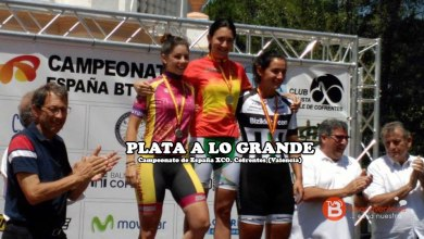 Photo of Medalla de plata para Sara Yusto en el Campeonato de España XCO
