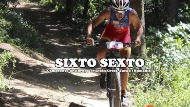 Photo of Sexta posición para Sixto Vaquero en el europeo de triatlón de Rumanía