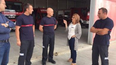 Photo of Agradecimiento a los bomberos de Bermillo por el incendio de Fermoselle