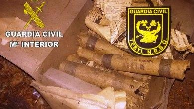 Photo of Desactivados 20 cartuchos de dinamita en Fresnadillo de Sayago