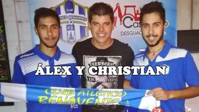 Photo of Álex y Christian ya son oficialmente jugadores del Desguaces Casquero