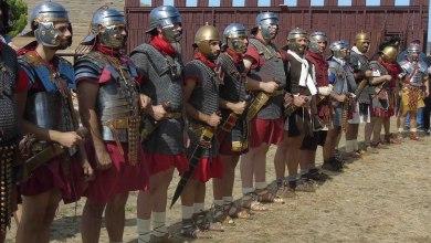 Photo of GALERÍA: Recreación histórica hasta el campamento romano de Petavonium