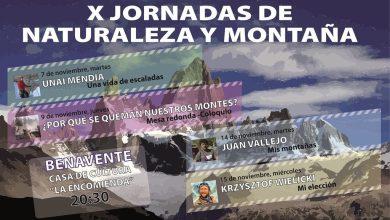 Photo of X Jornadas de Naturaleza y Montaña en la Casa de Cultura de Benavente