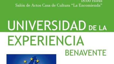 Photo of La Universidad de la Experiencia inaugura oficialmente mañana su curso