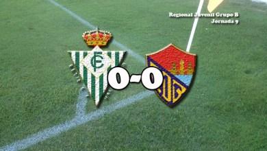 Photo of Valioso empate el arrancado por el juvenil del C.D Benavente ante el Betis