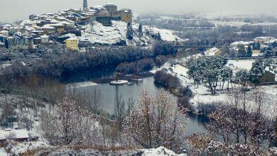 Photo of La nieve viste de blanco a Puebla de Sanabria