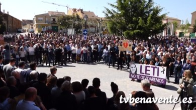 Photo of Concentración celebrada en Tábara en memoria de Leticia Rosino