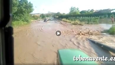 Photo of Las fuertes tormentas dejan riadas en la provincia de Zamora