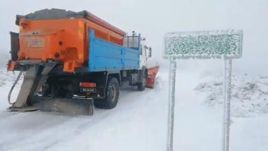 Photo of La nieve ya ha hecho acto de presencia en las carreteras provinciales