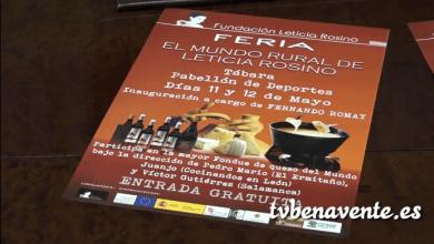 Photo of Presentación de la feria por Leticia Rosino en Tábara