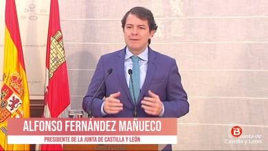 Photo of Comparecencia Alfonso Fernández Mañueco, Junta de Castilla y León 25 de Marzo