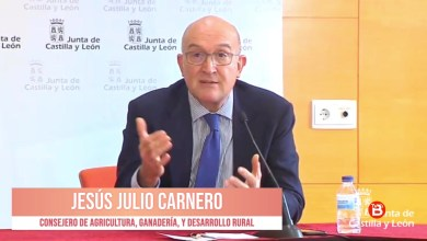 Photo of Verónica Casado y Jesús Julio Carnerno, situación COVID-19 en Castilla y León