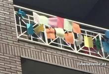 Photo of Homenaje a las familias que han decorado sus balcones en Benavente
