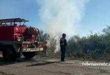 Photo of Incendio en una finca en el camino de Valcid