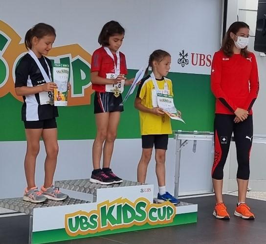 Sechzehn Bolliger*innen und eine Medaille am Kantonalfinal des UBS kids cups