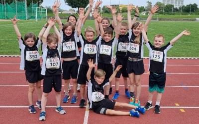 UBS Kids Cup in Langenthal: 1x Gold, 1x neuer Vereinsrekord und viele neue Bestleistungen dazu
