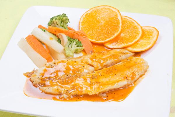 Tv Catia fonseca receita de Filé de peixe ao molho de laranja da nutricionista Lais Murta
