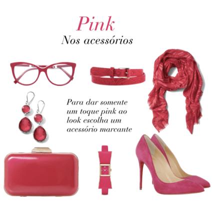 Tv Catia Fonseca moda cores vibrantes - pink