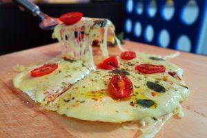 Pizza de tapioca da Catia