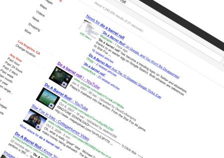 tv catia fonseca dicas truques e segredos do google barrel roll