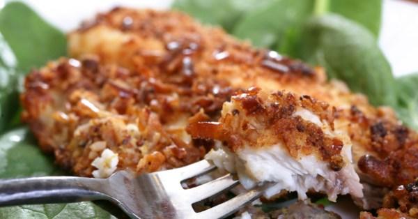 tv catia fonseca Impressione: Saboroso Peixe com crosta de bagel