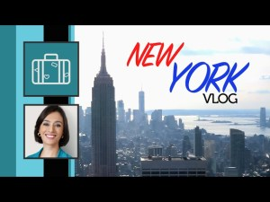 VLOG de viagem – Minhas férias em New York – Episódio 1