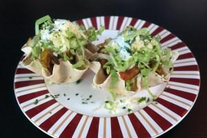 Taco concha de abóbora e carne mexicano da chef Ana Paula Novaes