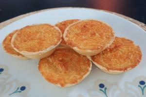 Casquinha de queijadinha da Catia