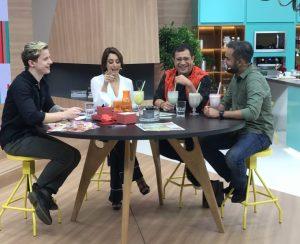Catia Fonseca faz disparar participação feminina nas tardes da Band: 121%