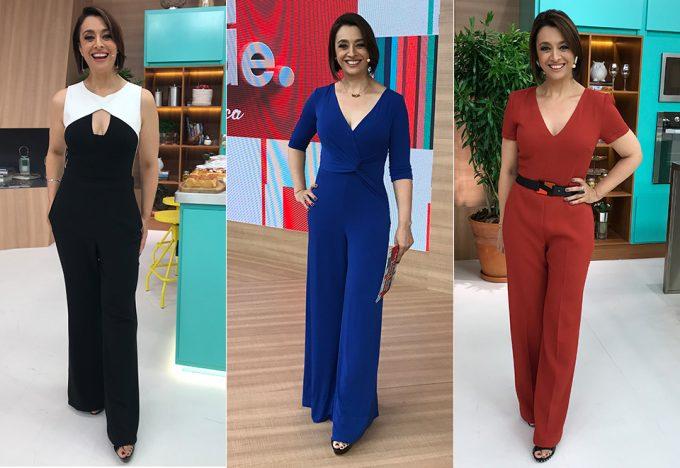 Catia Fonseca esbanja estilo com seus looks diários