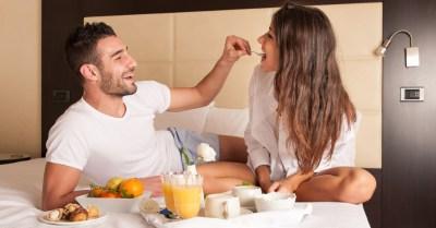 Café da manhã na cama - dia dos namorados