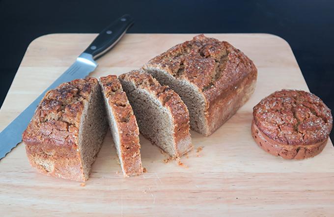 Pão doce sem glúten por Mauro Medeiros