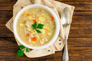 Revista da Catia: Sopa de batata-doce com frango