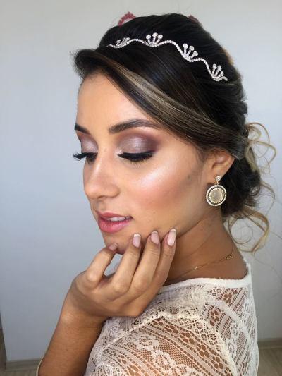 tv catia fonseca Maquiagem de noiva por Renata Gianetti