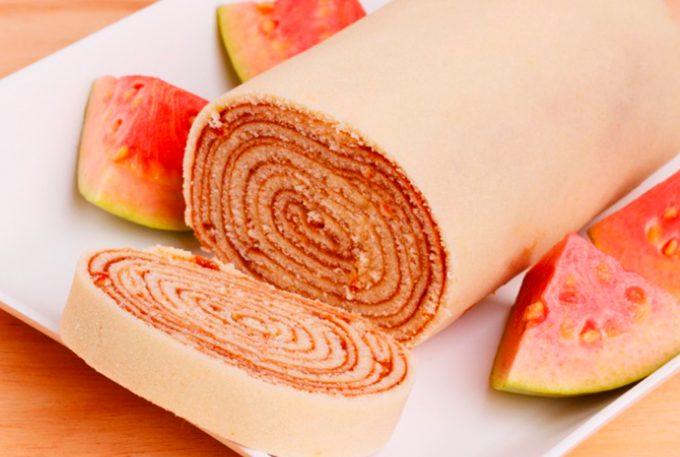 Bolo de rolo de goiabada da chef Ana Mimosa